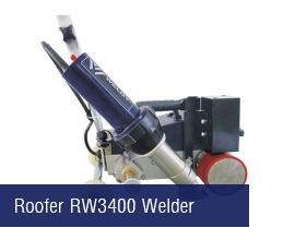 Roofer RW3400 Welding Machine